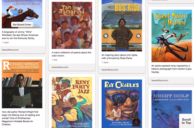 black history month book covers