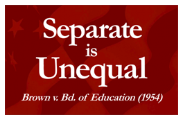 separate is unequal