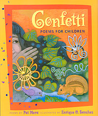 Confetti: Poems for Children Cover