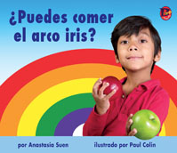 ¿Puedes comer el arco iris? Can You Eat a Rainbow in Spanish