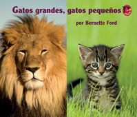 Gatos grandes, gatos pequeños Big Cats, Little Cats in