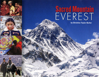 Sacred Mountain: Everest Cover
