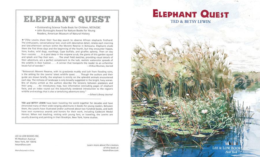 Teacher's Guide - Elephant Quest   Lee & Low Books