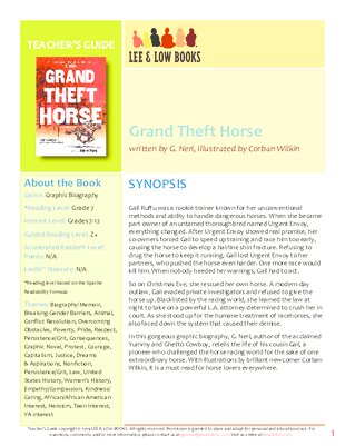 Preview_grandthefthorse_teachersguide