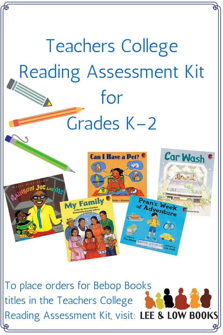 Worksheet Reading Level K educators grade level resources teachers college reading assessment kit for